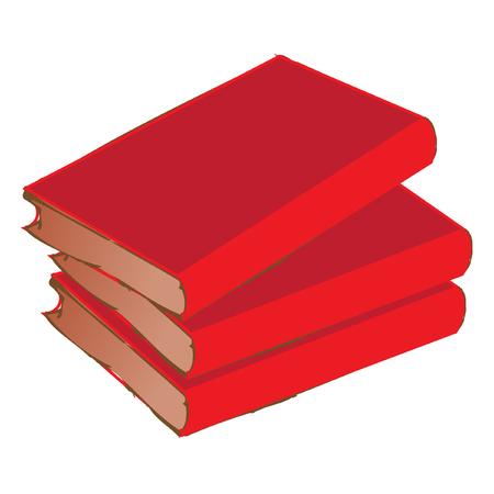 civilized: books vector illustration