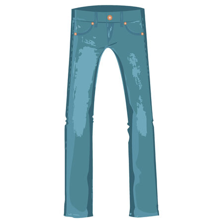 vintage jeans  Vector