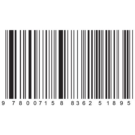 realistic barcode vector , easily editable