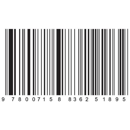 realistic barcode vector , easily editable