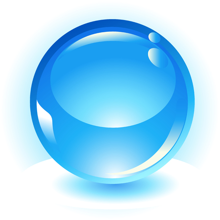 sphere vector icon Stock Vector - 4489187