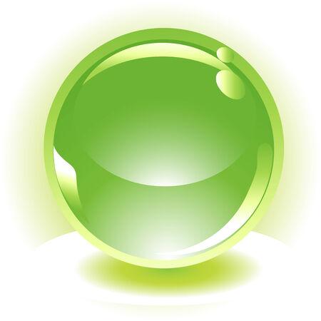 gel: sphere vector icon