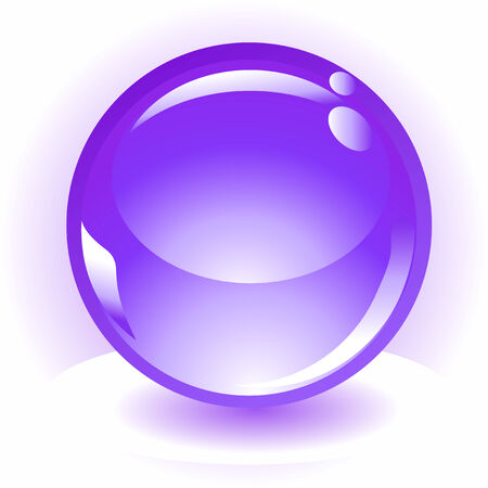 sphere vector icon Stock Vector - 4489189