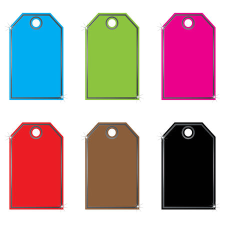 Vector set of labels  ,tags Vector