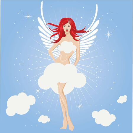 fairy girl , angel photo