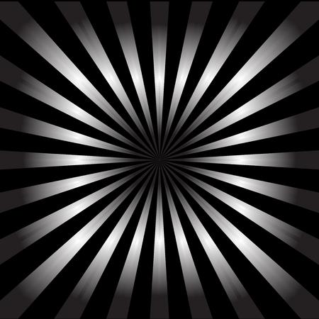 Sunburst style nightlife vector background