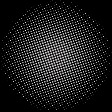 dotted disco vector background