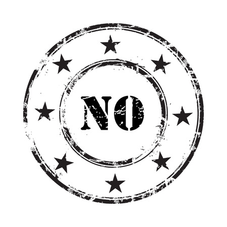 no abstract grunge rubber stamp background Vector
