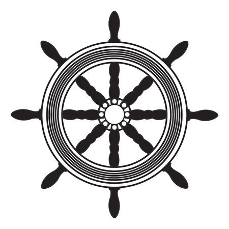 steering wheel Illustration