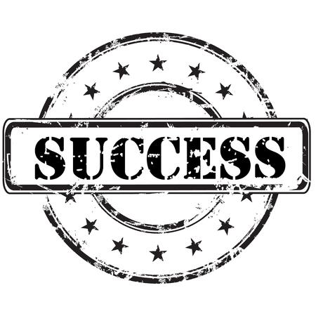 Success stamp  Иллюстрация