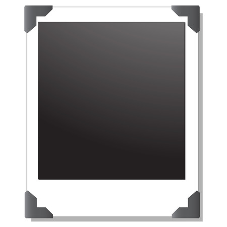 blank Polaroid images Vector