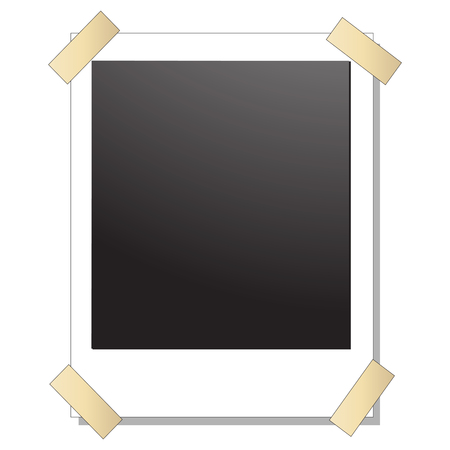 blank Polaroid images with tuck Stock Vector - 5176441