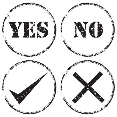 grunge rubber stamp icon set