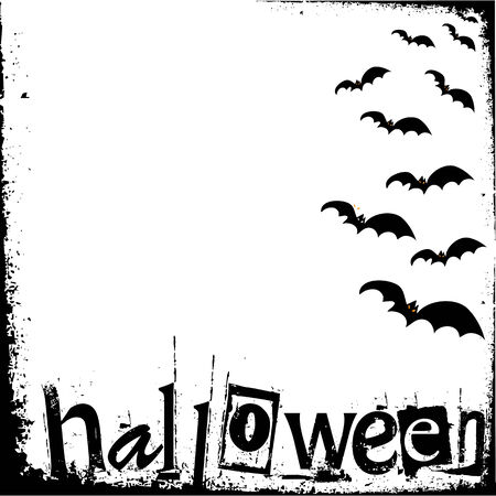 halloween grunge background Vector