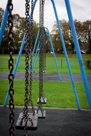 children play area: swing