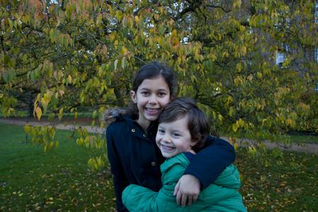 sibling at the park