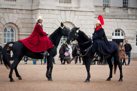 horse guards parade Editorial