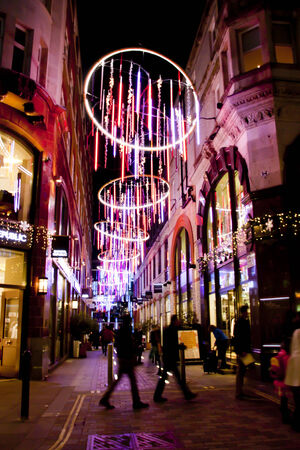 night view london