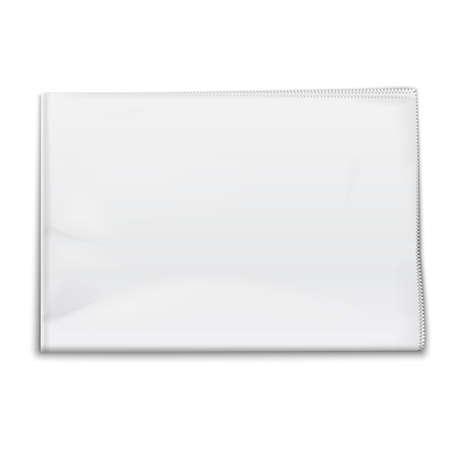Plantilla Periódico en blanco sobre fondo blanco Ilustración vectorial EPS10 Foto de archivo - 25282783