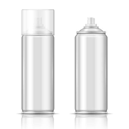 Aluminium spray can  Vector