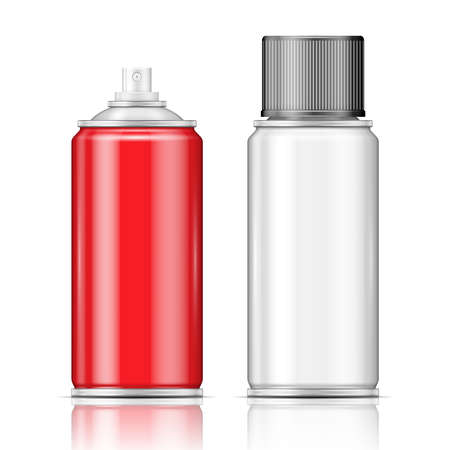 hairspray: Latas de aerosol de aluminio