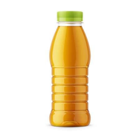 Orange juice bottle template.