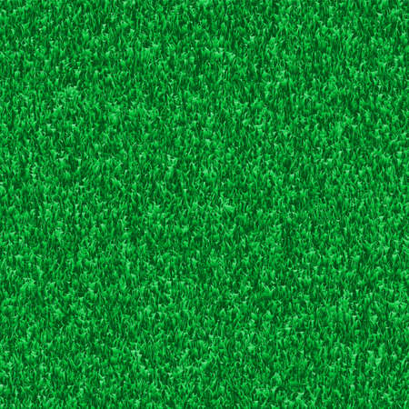 Nature green grass background. Realistic vector illustration.