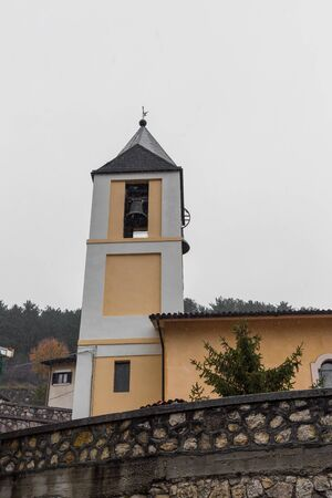 Villetta Barrea, Abruzzo, Italy. 13 October 2017. Photographic documentation of the church of S. Maria Assunta Archivio Fotografico