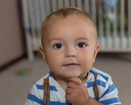 cute baby boy: pretty little baby boy