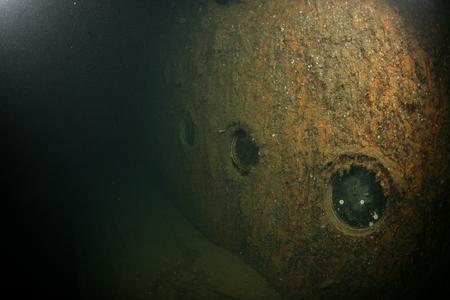 ship wreck: Baltic Sea underwater diving Ship Wreck photo