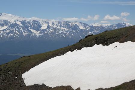 Altai region Russia mountain landscapes Stock Photo