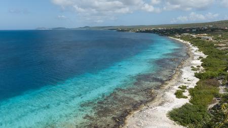 sea beach coast Bonaire island Caribbean sea