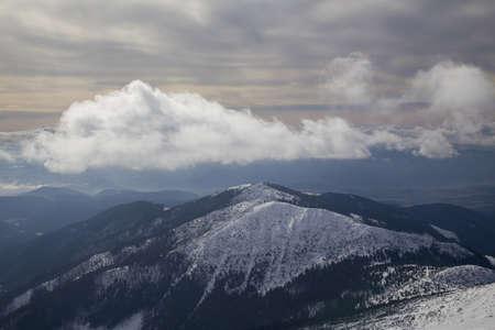 snow mountain Slovakia ski winter Jasna Europa