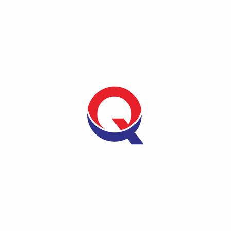 Letter Q Eagle Logo