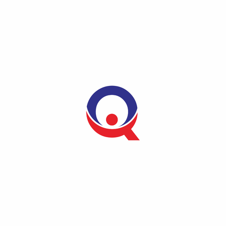 q: Letter Q People Logo
