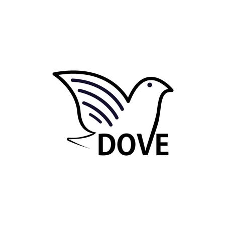 Dove Text symbol Ilustração