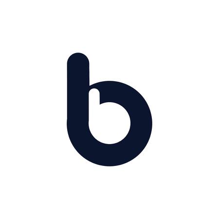 b b letter logo