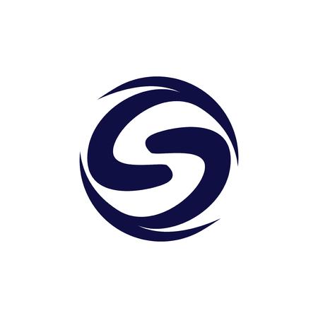 S Abstract Logo