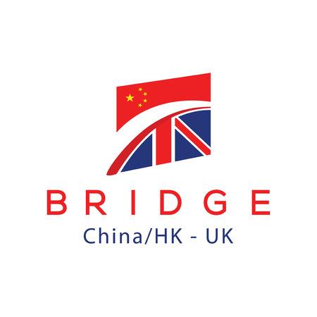 Bridge Logo Element Stock Photo