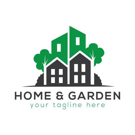 Home and Garden Logo Vector