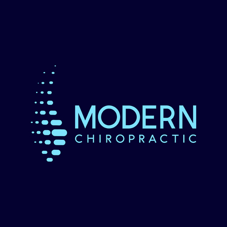 Chiropractic   Icon element. Medical design collection. Vector illustration Stock Illustratie