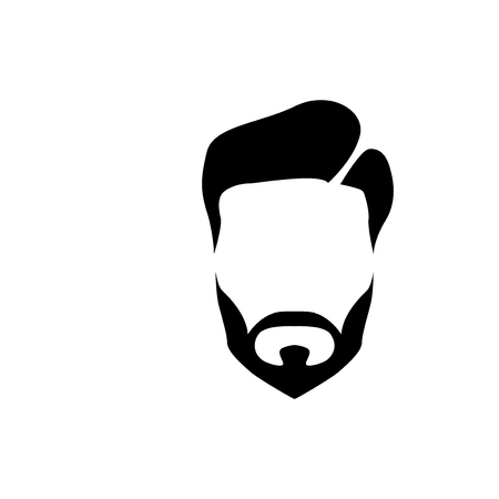 Hair man logo vector element. barber shop logo template 일러스트