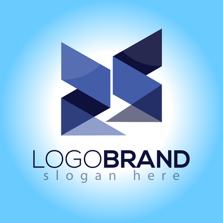 RS Initial Letter Logo vector element. Initial Logo template