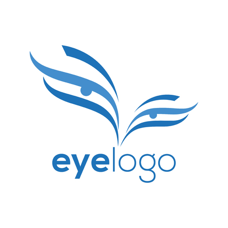 Eye Abstract Logo template. Eye Logotype