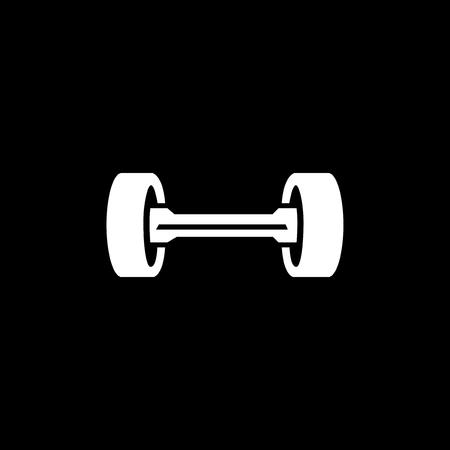 hove-board or skateboard electric logo icon vector