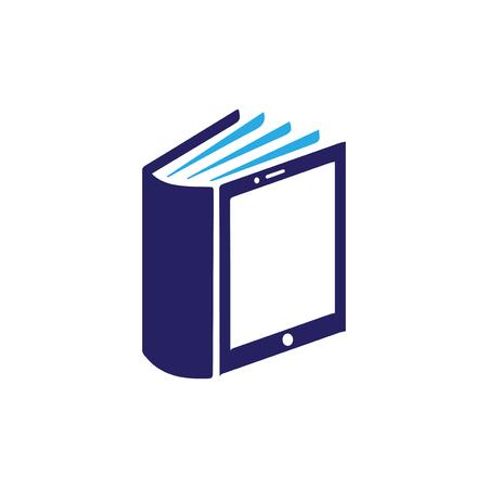 phone Mobile Book logo icon vector