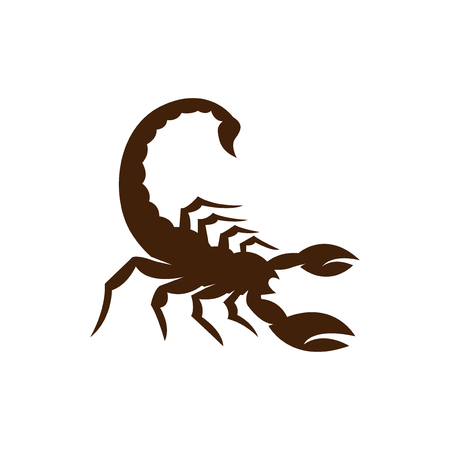 Scorpion logo icon vector 免版税图像 - 106192262
