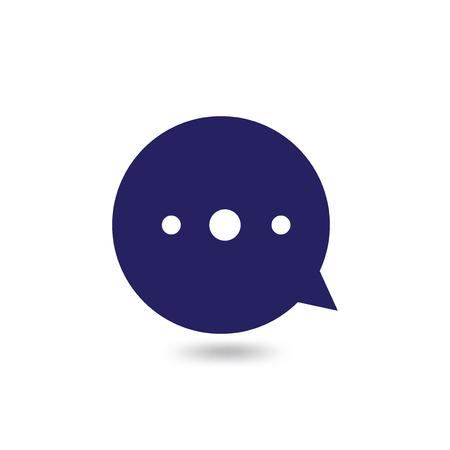Circle Talk Logo icon vector