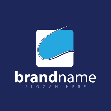 Abstract granite logo icon vector template