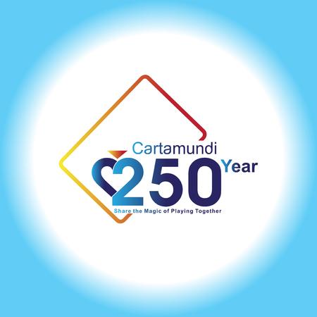card casino logo vector template